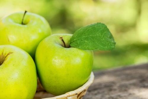 Las manzanas te ayudan a aumentar la energía