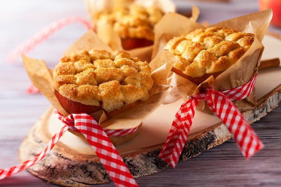 Mentiras dulces de manzana y pera para diabéticos