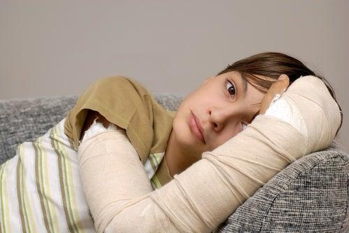 curación de una fractura