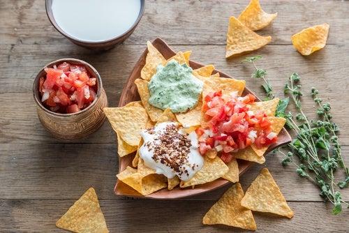 Salsa mexicana de queso blanco