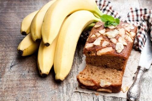 Torta de banana.