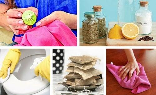 ¿Podemos limpiar nuestro hogar sin productos químicos?
