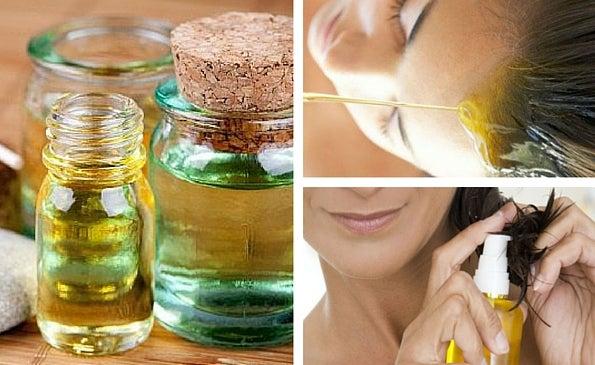 7 aceites naturales para el crecimiento del cabello