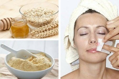 2 métodos naturales para deshacerse del vello facial
