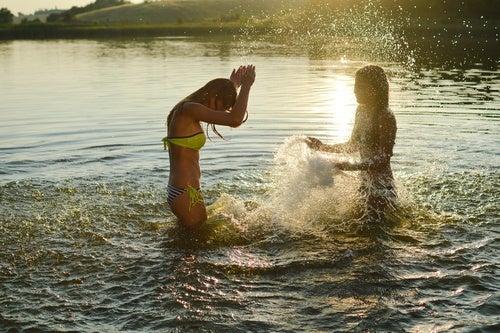 Baños al aire libre