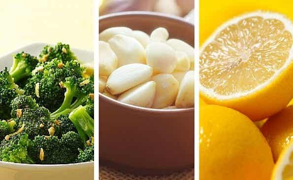 Brócoli, limón y ajo para cuidar de tu peso y tu salud