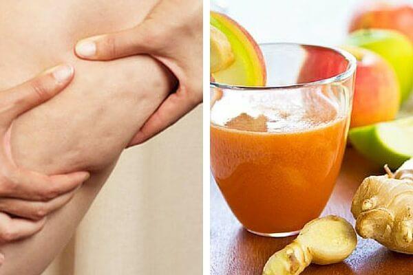 Cómo combatir la celulitis con bebidas naturales