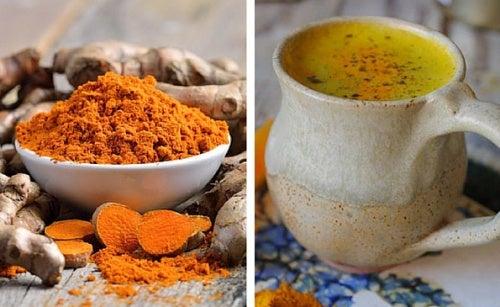 Cómo hacer un té antiinflamatorio de cúrcuma
