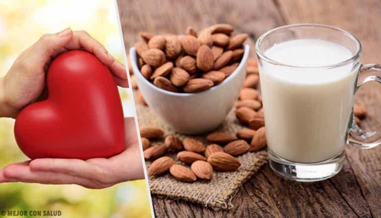 Cómo preparar leche de almendras casera