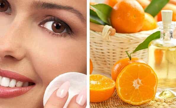 Cómo preparar una loción de naranja para cerrar los poros dilatados