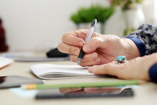 Cambios en la escritura