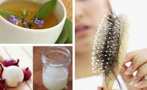 Remedios caseros contra la caspa y caida del cabello