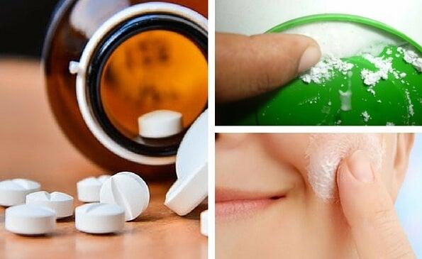 Los secretos de la aspirina para embellecer la piel del rostro