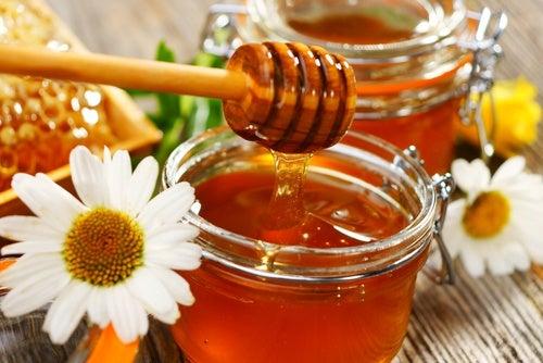 Miel de abejas. Ojos