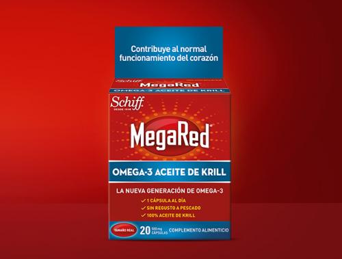 Omega-3 Megared