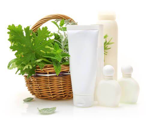 Receta III de shampú de menta para cabellos grasos.
