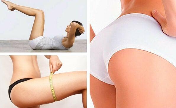 Rutina diaria de 10 minutos para tonificar tus piernas y glúteos