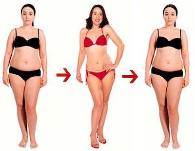 Cuidado: Subir y bajar de peso afecta a la salud de tus huesos