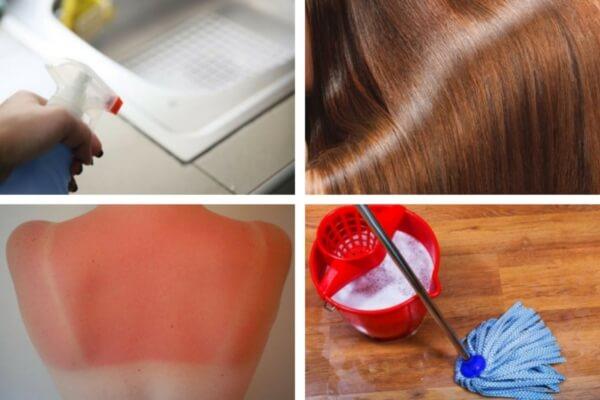8 increíbles usos que le puedes dar al vinagre blanco