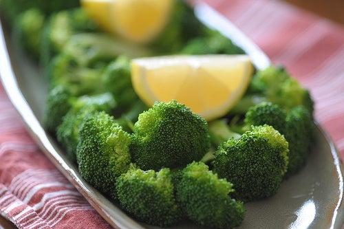Brocoli y limón