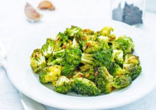 ensaldas con brócoli