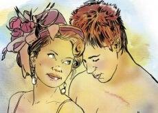Mujer y hombre desnudos