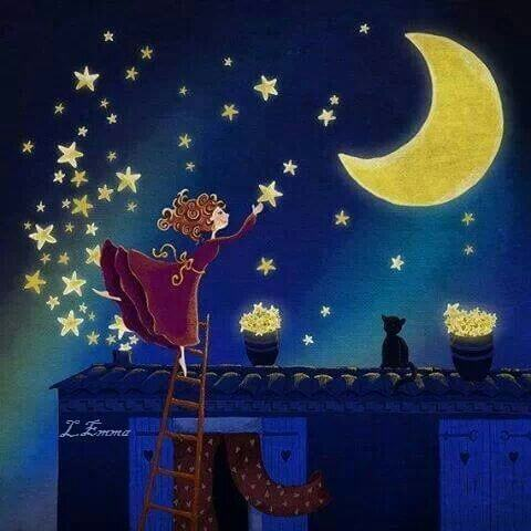 noche con estrellas