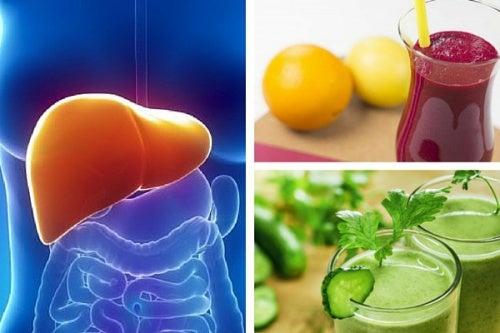 5 batidos para desintoxicar el hígado