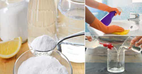 5 trucos para desinfectar la casa de modo natural