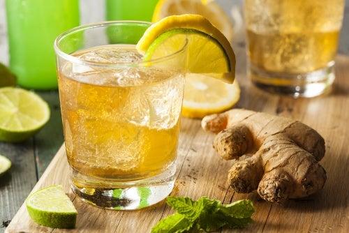 Cerveza de jengibre para reducir el dolor y la inflamación
