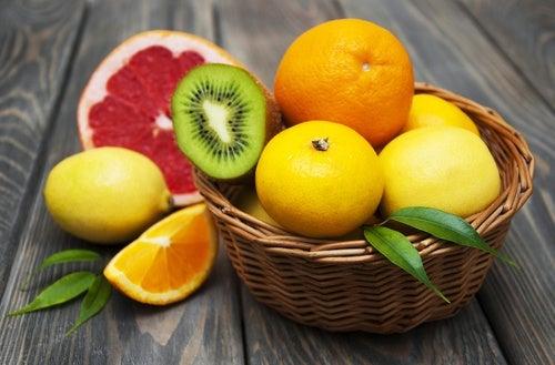Cítricos, ricos en ácido fólico