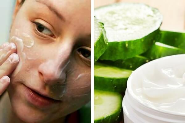 Cómo preparar una crema limpiadora de pepino