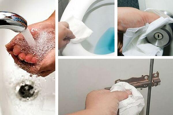 Consejos de higiene si usas baños públicos