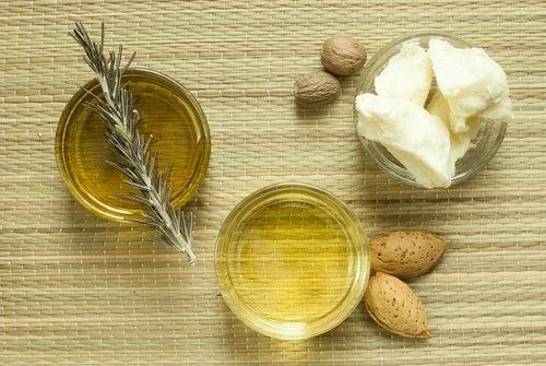 Crema nutritiva de manteca de karité y aceites