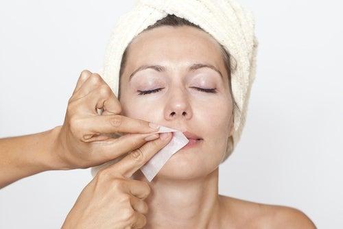 Eliminar el vello del rostro
