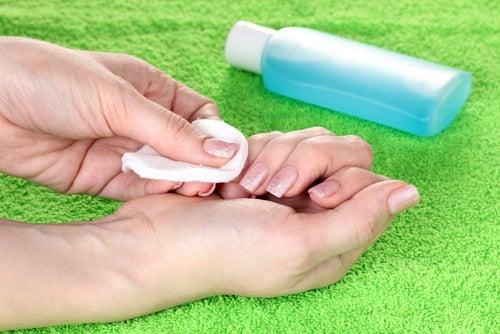 Evitar el uso de sustancias químicas nocivas