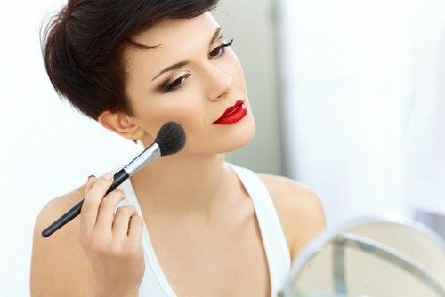 Exceso de maquillaje