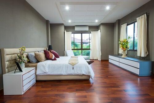 Esta habitación es adecuada para coger ideas de casas minimalistas