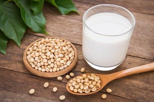 Leche de soja vs leche de vaca