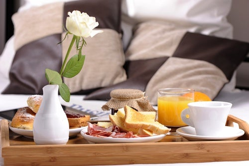 Licencia para comer (o desayunar)