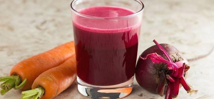Batido purificador de remolacha y zanahoria, para el hígado y la sangre