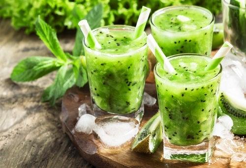 Propiedades nutricionales de los jugos verdes