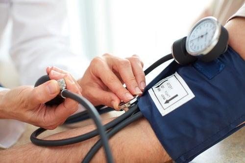 Regula la presión arterial