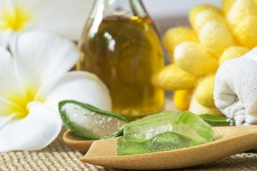 Tratamiento capilar de sábila y miel de abejas