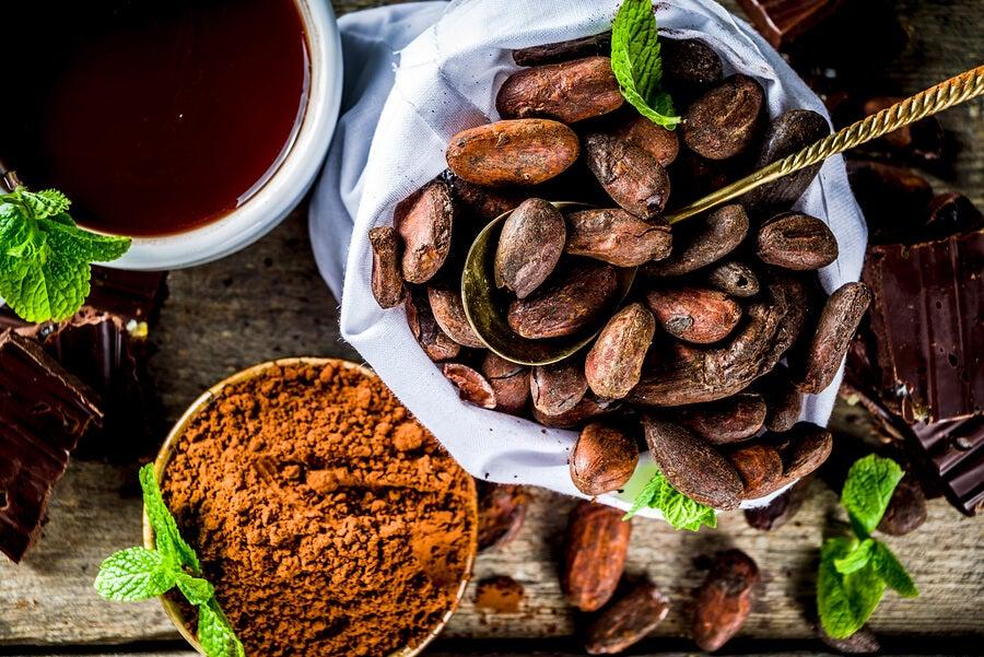 Cacao puro.
