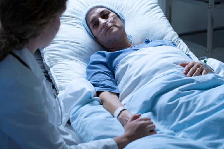 Complicaciones del cáncer de garganta