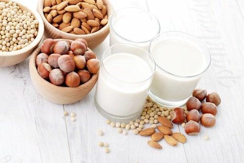 Recetas de leches vegetales para la merienda