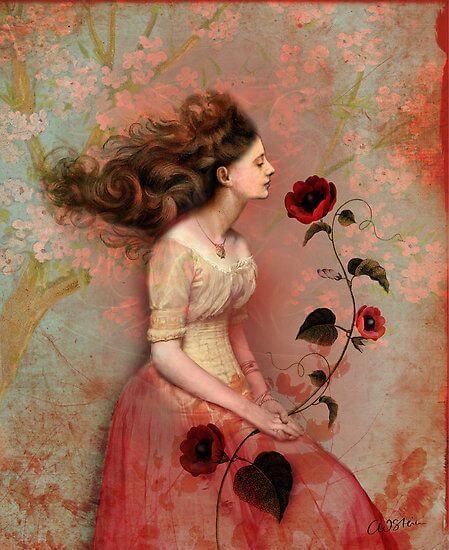 mujer con rosa en la mano que representa la gente buena