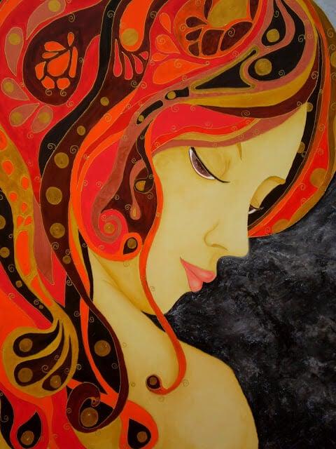 Mulher-de-cabelo-laranja