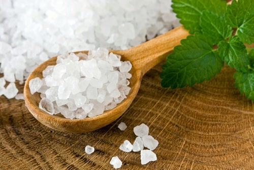 sea salt and warm water - best colon cleanse